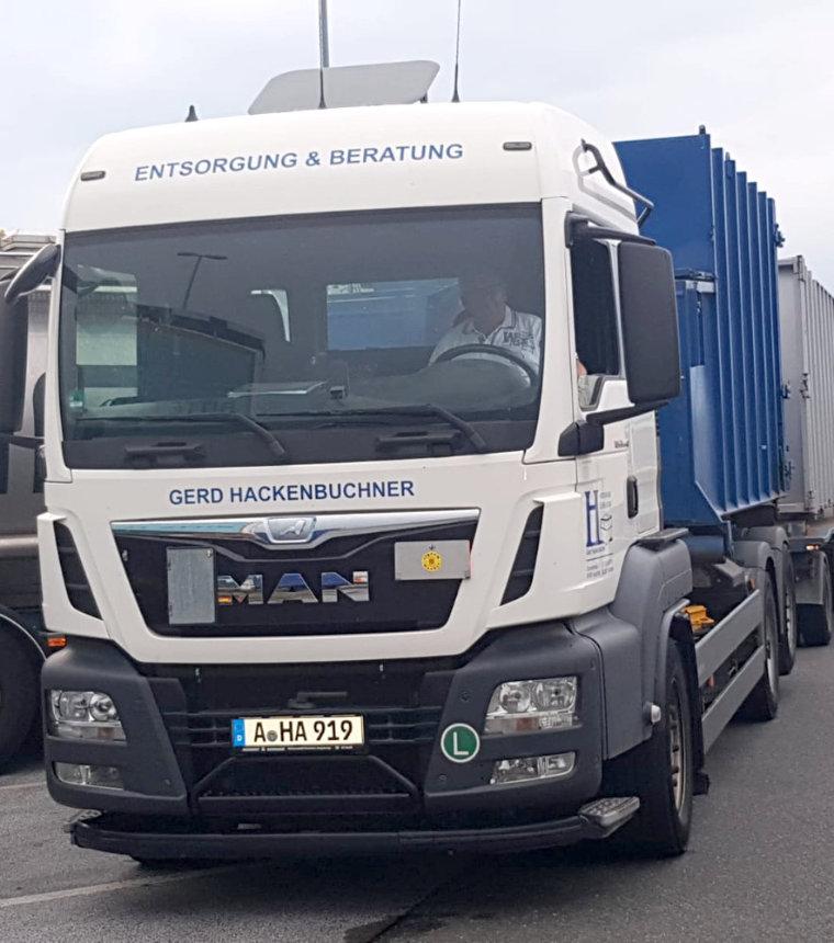 Containerdienst in Augsburg mit Hackenbuchner Entsorgung & Beratung
